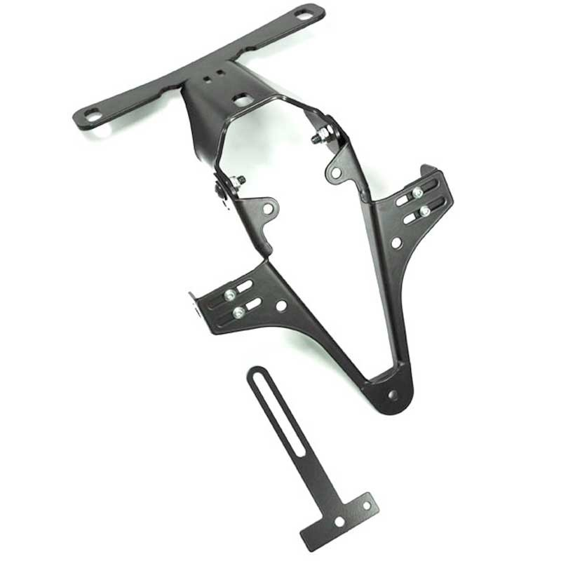 ADJUSTABLE LICENSE PLATE BRACKET FOR BMW S1000RR/S1000R - HIGHSIDER