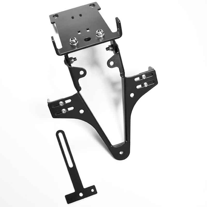 ADJUSTABLE LICENSE PLATE BRACKET FOR YAMAHA FZ6/FAZER/S2 - HIGHSIDER