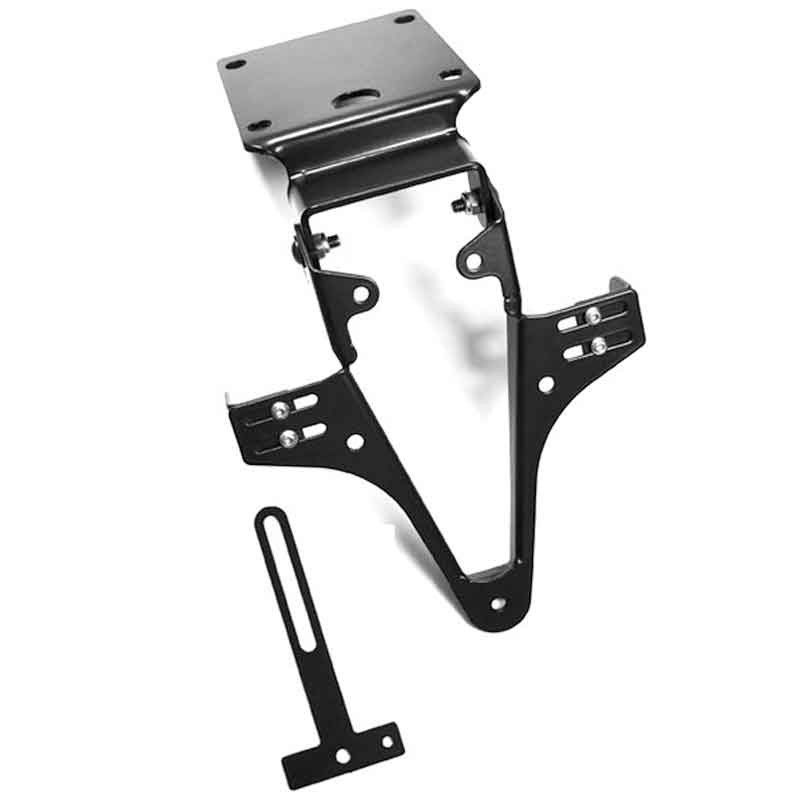 ADJUSTABLE LICENSE PLATE BRACKET FOR YAMAHA FZ1/FZ8 - HIGHSIDER