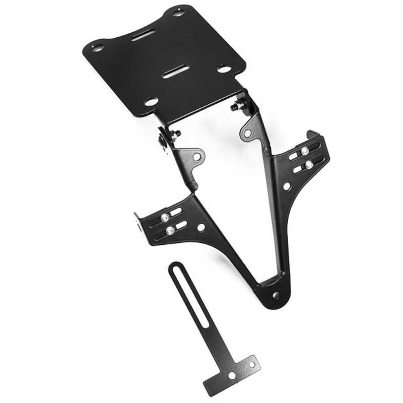 ADJUSTABLE LICENSE PLATE BRACKET FOR BMW R 1200 S 06-08 - HIGHSIDER