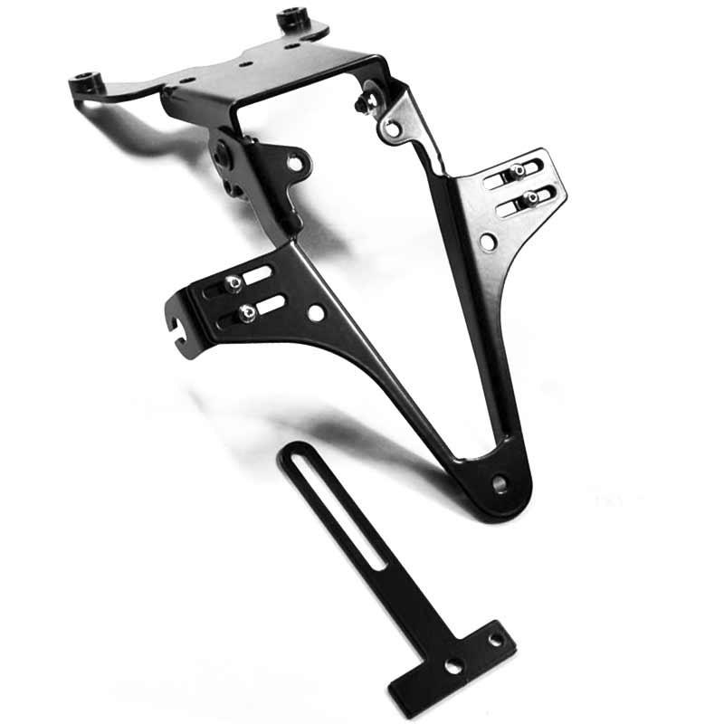 ADJUSTABLE LICENSE PLATE BRACKET FOR KTM 990 SUPER DUKE R 09-11 - HIGHSIDER