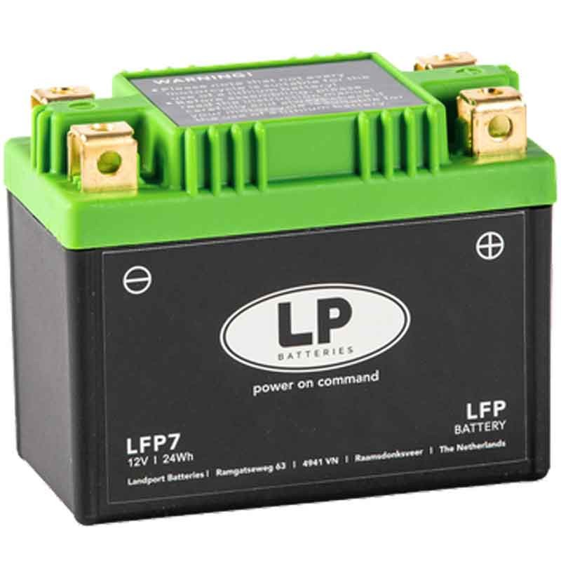 LITHIUM BATTERY (LiFePO4) WITHOUT MAINTENANCE LP - LFP7
