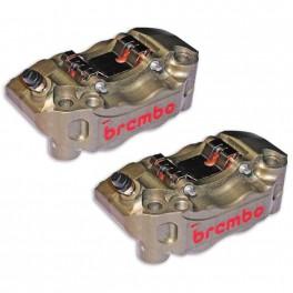 RADIAL BRAKE CALIPERS CNC KIT 100MM - BREMBO P4 30/34