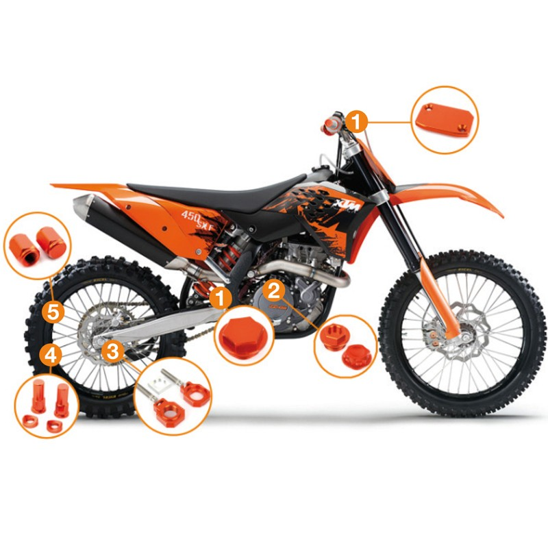 KIT OFF-ROAD KTM ACCOSATO BSM1A
