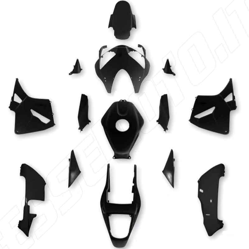 KIT CARENE COMPLETE IN ABS HONDA CBR600RR 2004-2006