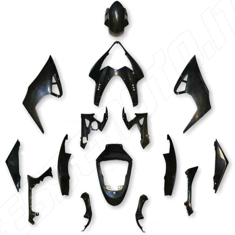 KIT CARENE COMPLETE IN ABS PER SUZUKI GSX-R 1000 K5 2005