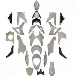 KIT CARENE COMPLETE IN ABS PER SUZUKI GSX-R 1000 K7 2007-2008
