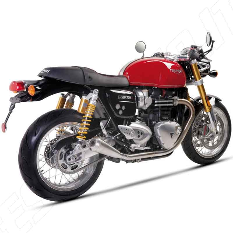 AFTERMARKET SILENCER IRONHEAD IXIL FOR TRIUMPH THRUXTON R 1200 16-