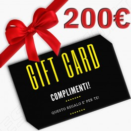 BUONO REGALO ESSEMOTO.IT - GIFT CARD 200,00€