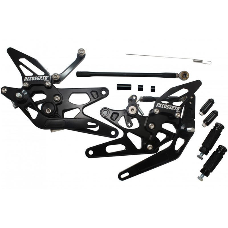 RACING REARSETS KIT ACCOSSATO YAMAHA YZF-R1 04-06