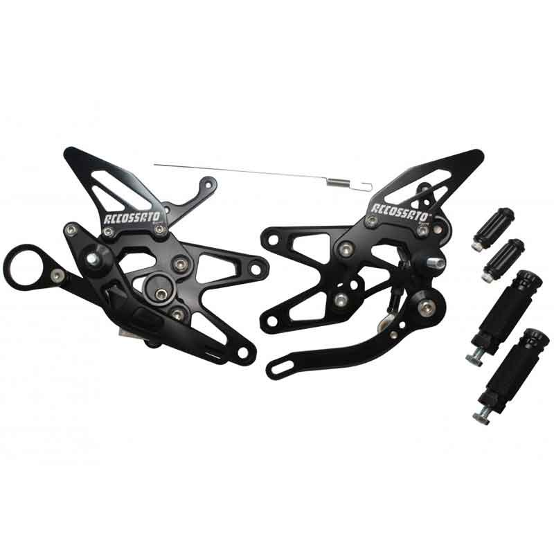 RACING REARSETS KIT ACCOSSATO BMW S1000RR / S1000R 09-16