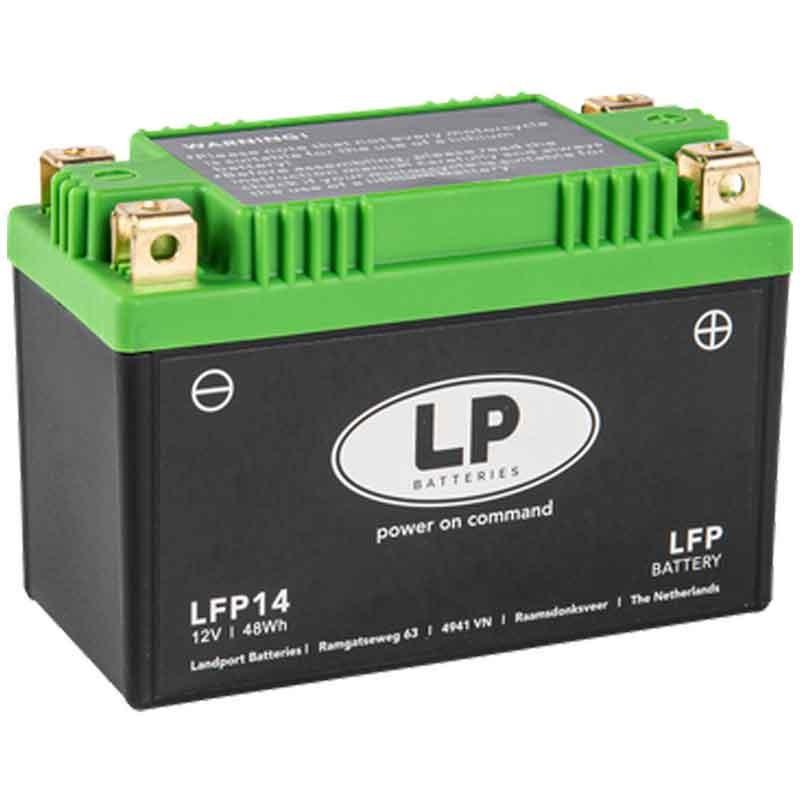 BATTERIA MOTO AL LITIO (LiFePO4) SENZA MANUTENZIONE LP - LFP14