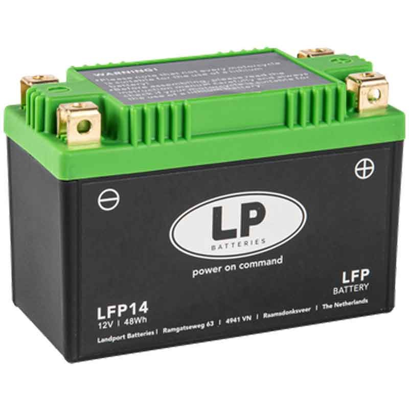 LITHIUM BATTERY (LiFePO4) WITHOUT MAINTENANCE LP - LFP14