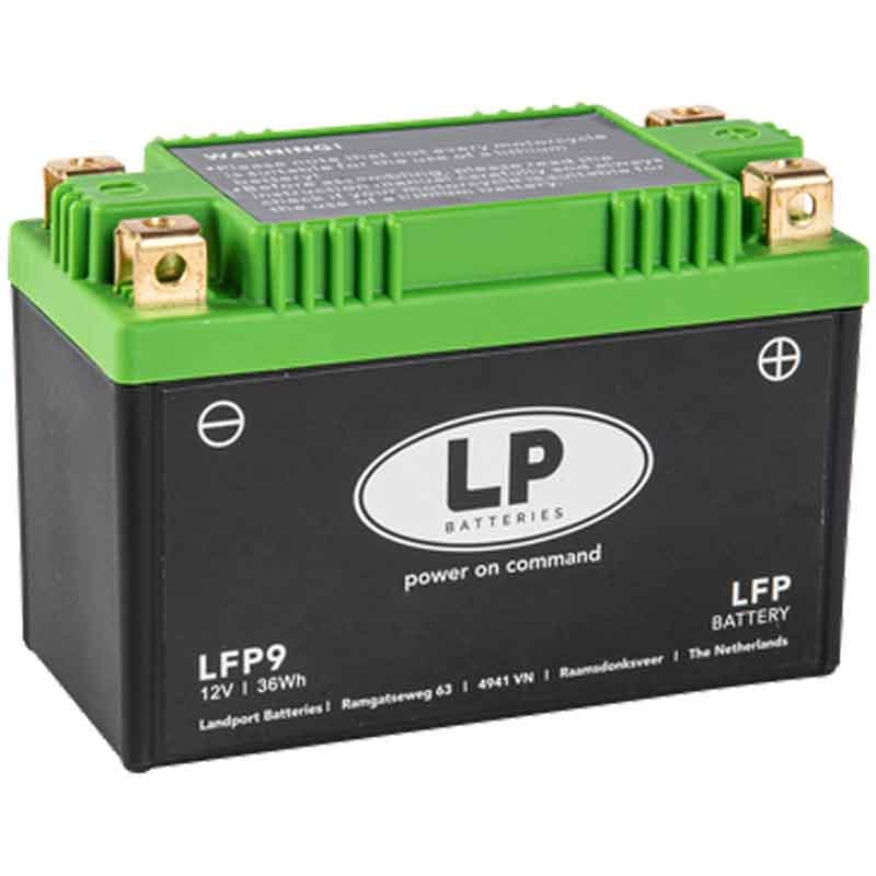 LITHIUM BATTERY (LiFePO4) WITHOUT MAINTENANCE LP - LFP9