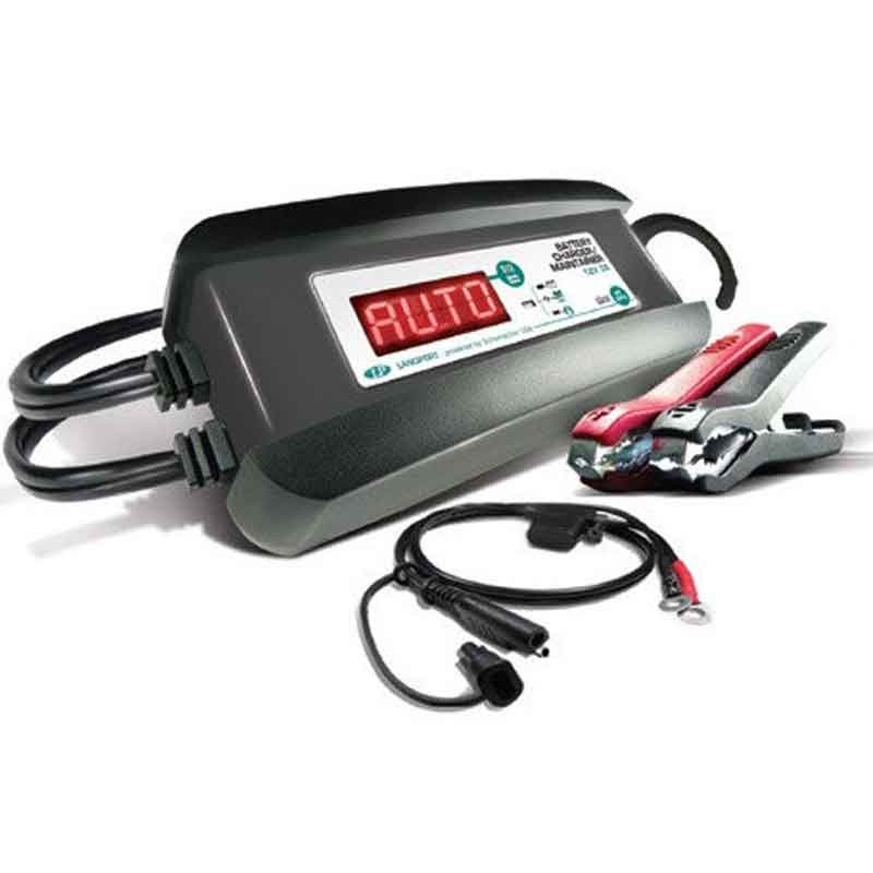 BATTERY CHARGER AND MAINTAINER AUTOMATIC BATTERY CHARGER FOR MOTORCYCLES LP - PC SPI3
