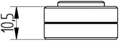 Distanziale-pinza-Freno-radiale-8,5mm-ds